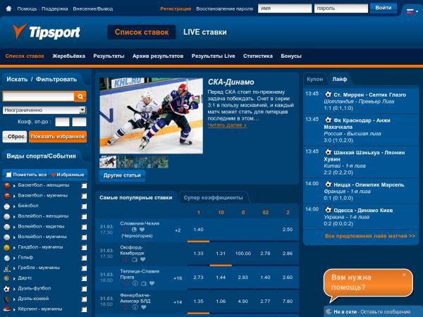 Полезные сайты по ставкам на спорт